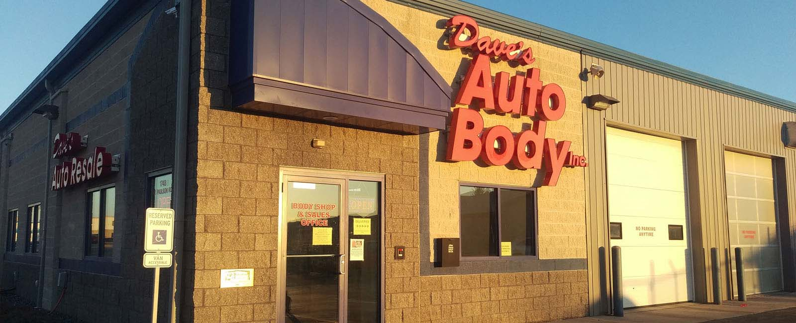Dave's Auto Body Inc - auto repair shop in Green Bay